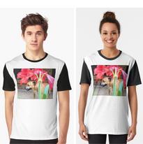 Staffie & Amaryllis T-Shirt.png