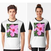 Pink Hibiscus T-Shirt.png