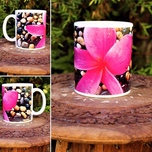 Mug (Pink Frangipani)