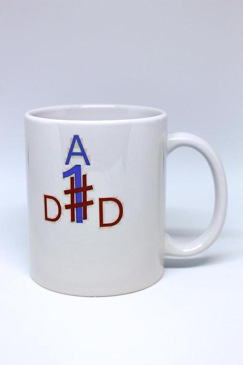 Mug (#1 DAD)