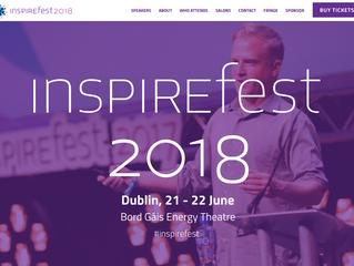 Fancy a 15-min coffee at Inspirefest, 21-22 June 18, Dublin Ireland?