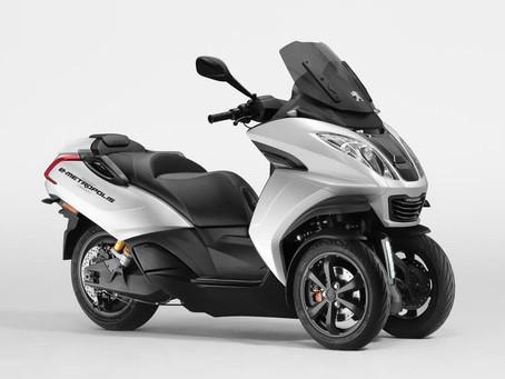 PEUGEOT MOTOCYCLES PARTICIPA EN EL MOTOR SHOW DE GINEBRA 2019 DONDE REVELA EL CONCEPTO E-METROPOLIS