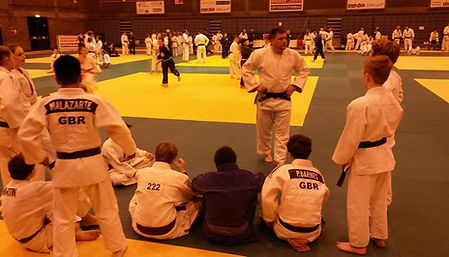 Fighting Fitness Judo at Sportif Training Camp