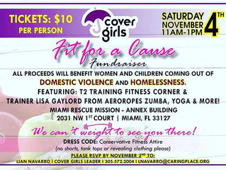 Fit For A Cause Fundraiser-Domestic Violence and Homelessness. Win a raffle for a Movement Analysis!