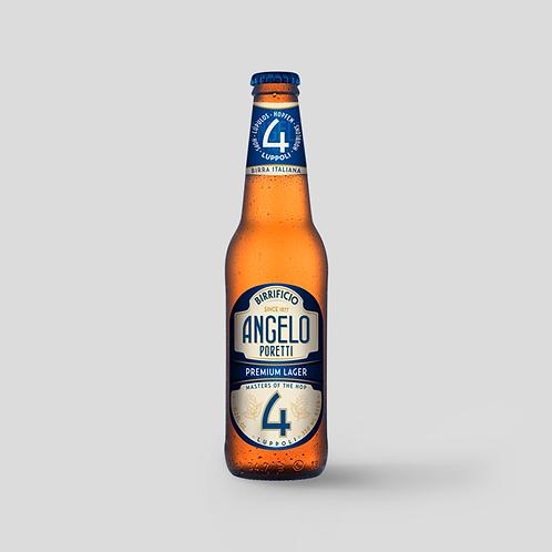 Birra Poretti Number 4 Case Deal - 24 Bottles - 330ml