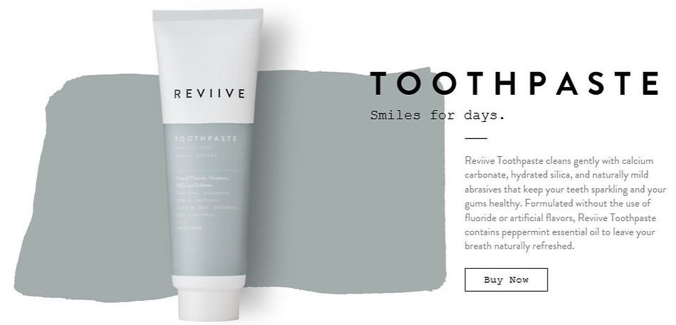 Reviive Organic Toothpaste - Save 30% OFF Today!