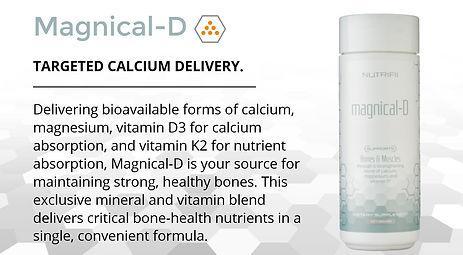 Ariix Magnical D - Magnesium, Calcium, Vitamin D3, Vitamin K2 Blend