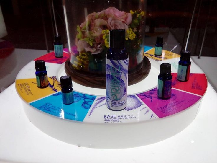 Priime Oils at the Spa
