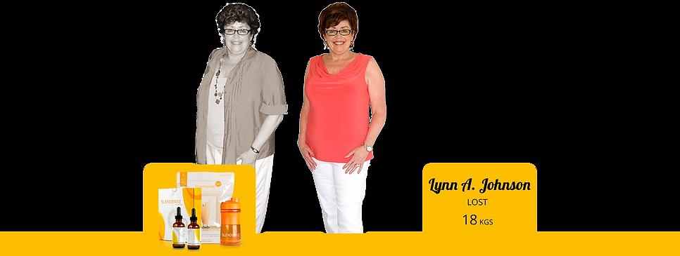 slenderiiz weight loss drops Lynn Allen