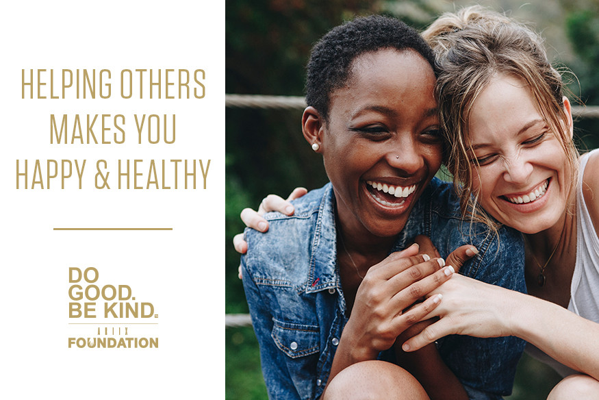 Helping Others Makes You Happy and Healthy