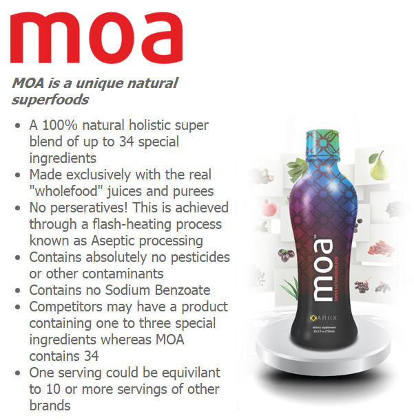 Moa Superfood supplement