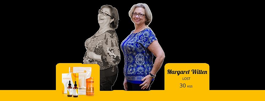 Margaret lost 30kgs with Slenderiiz.png