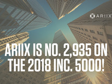 ARIIX LISTED AS ONE OF AMERICA'S FASTEST-GROWING COMPANIES ON THE 2018 INC. 5000