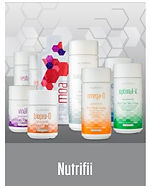 Nutrifii Optimal Nutritional Suppements - FDA and OTC certified