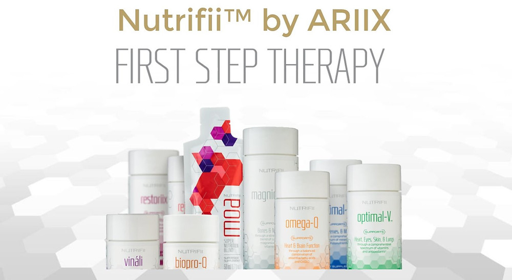 Nutrifii by Ariix - First Step Optimal Nutritional Therapy