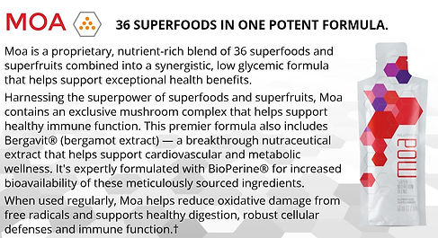 Ariix MOA Superfruit wholefood, 36 special ingredients