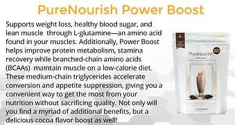 Pure Nourish has amino acids derived from plant, great source of protein for your weight loss diet