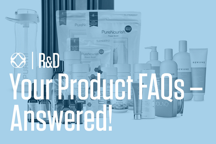 ARIIX Products R&D FAQs