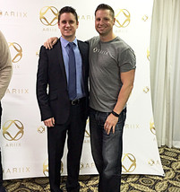 Charles Gilbert with ARIIX Chief Sales Officer Ian Chandler