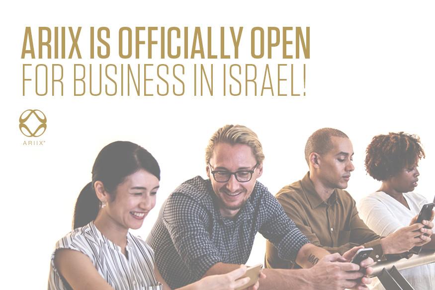 ARIIX Israel Office Opens Market