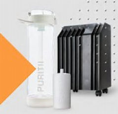 Puritii - Pure filtered water and air