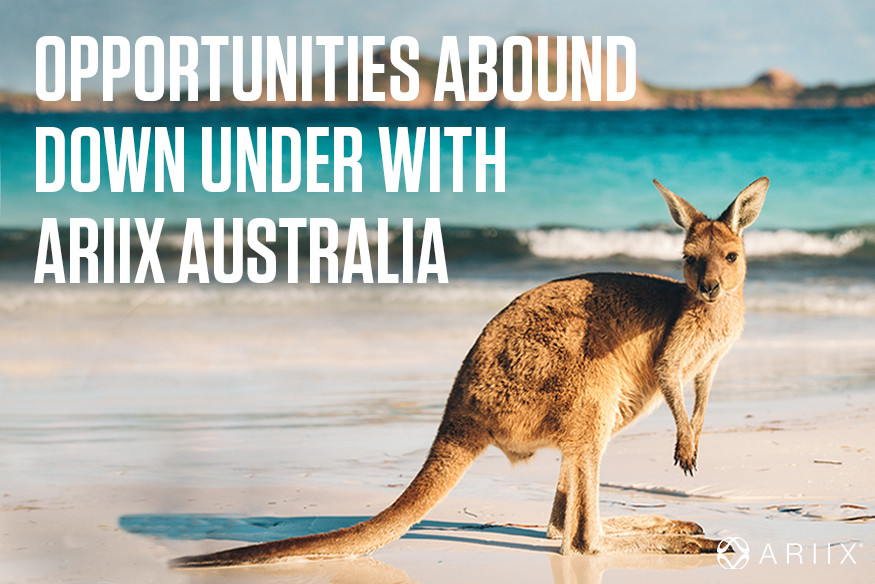 Ariix opens new office in Australia - business your international team with us