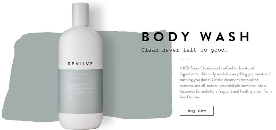 Reviive Organic Body Wash- Save 30% OFF Today!