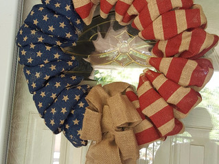 4th of July Decor On a Budget