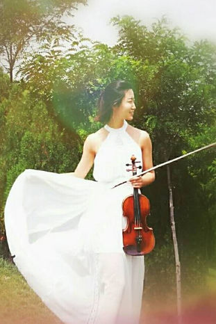 Yuning Qi, Geigenunterricht, Violinenunterricht, Musikschule Cluster