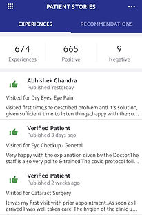 Dr Aditi Agarwal Ophthalmologist Practo Reviews