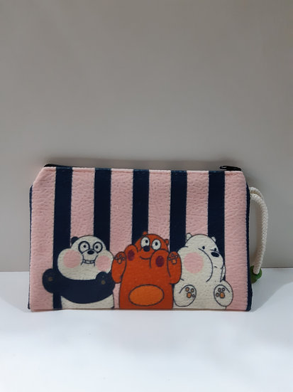 Boncuklu cüzdan