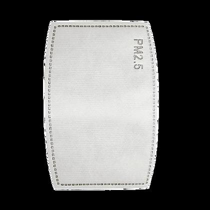 10 פילטר פחם פעיל (PM2.5) המצויד בחמש שכבות הגנה