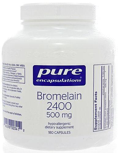 Pure Bromelain 2400 500 mg
