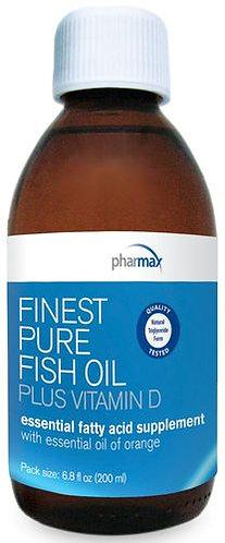 Pharmax Finest Pure Fish Oil plus Vitamin D