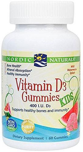 Nordic Naturals Vitamin D3 Gummies for Kids