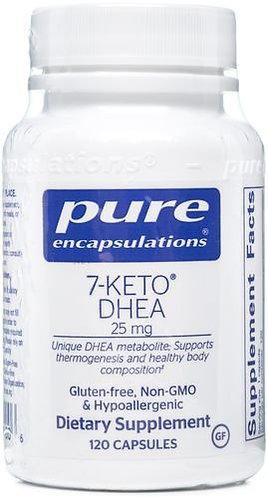 Pure 7-Keto DHEA 25 mg