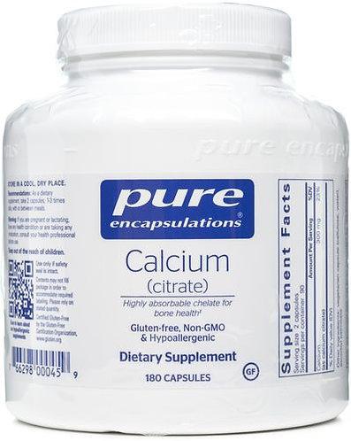 Pure Calcium Citrate