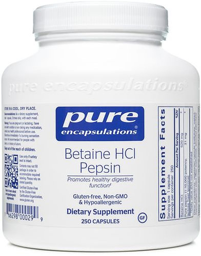 Pure Betaine HCl Pepsin