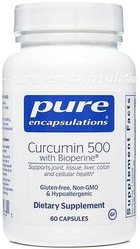 Pure Curcumin 500 with Bioperine