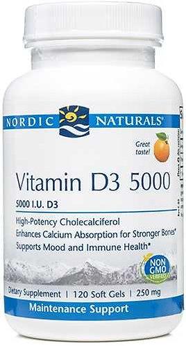 Nordic Naturals Vitamin D3 5000 I.U.