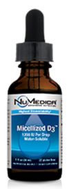 NuMedica Micellized D3