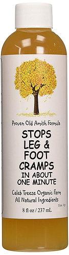 Caleb Treeze Stops Leg and Foot Cramps
