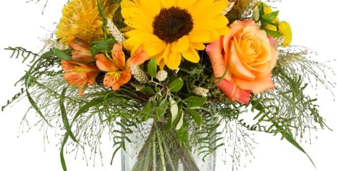 Sonnenblumenstrauss gelb/orange