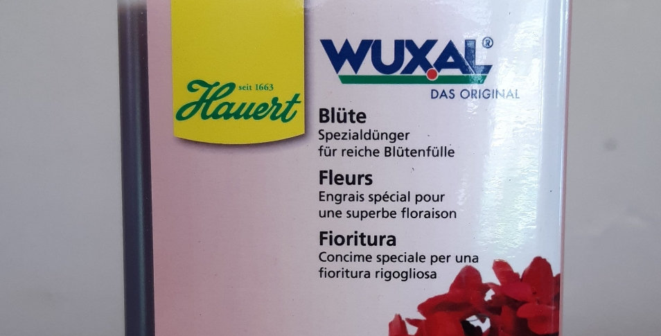 Wuxal Blüte