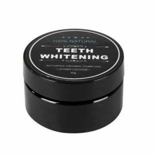 Valley Girl Tan |Organic Activated Charcoal Teeth Whitening Powder