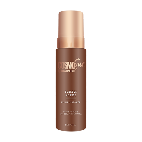 Valley Girl Tan | CosmoSun by Cosmopolitan Sunless Mousse with Instant Color 7.4