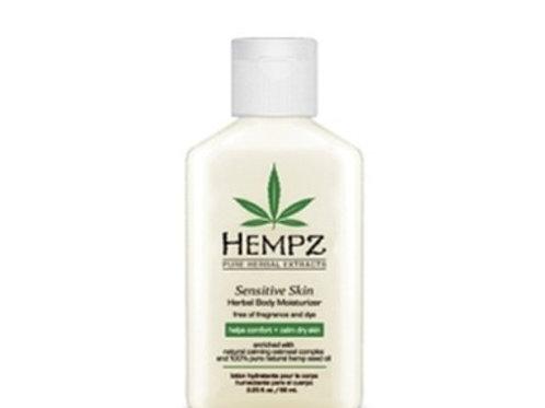Valley Girl Tan | Hempz Travel Size Sensitive Skin Herbal Lotion