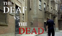 """""""The Deaf vs The Dead"""" by Dickie Hearts from United States"""