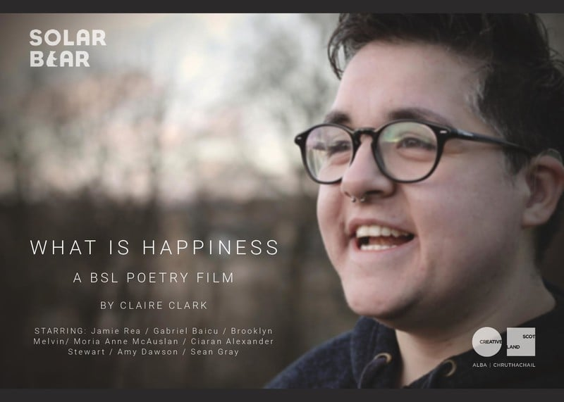 """What is Happiness"" by Claire Clark from United Kingdom"