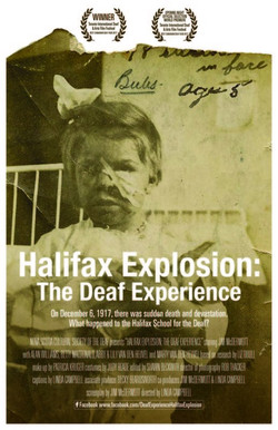Halifax Explosion by Linda Campbell from Canada